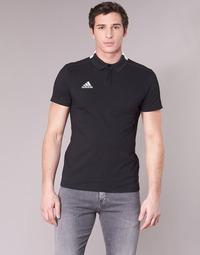Textil Muži Polo s krátkými rukávy adidas Performance CON18 CO POLO Černá