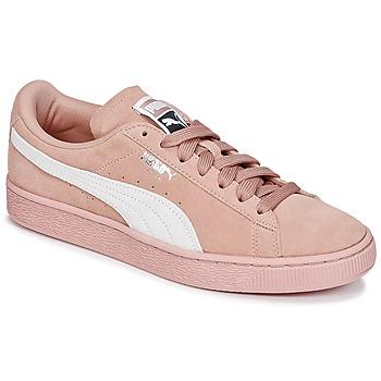 Boty Ženy Nízké tenisky Puma SUEDE CLASSIC W'S Růžová / Bílá