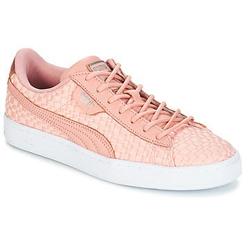 Boty Ženy Nízké tenisky Puma BASKET SATIN EP WN'S Růžová