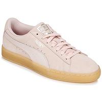 Boty Ženy Nízké tenisky Puma SUEDE CLASSIC BUBBLE W'S Růžová