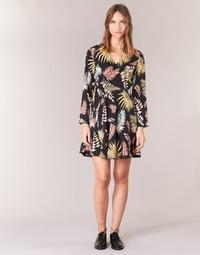 Textil Ženy Krátké šaty Betty London HYPO Černá / Vícebarevná