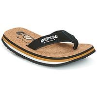 Boty Muži Žabky Cool shoe ORIGINAL Černá / Velbloudí hnědá