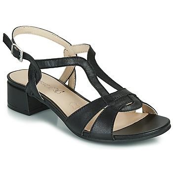 Boty Ženy Sandály Caprice SATIBO Černá