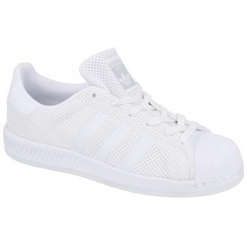 adidas Tenisky Dětské Superstar Bounce J - Bílá