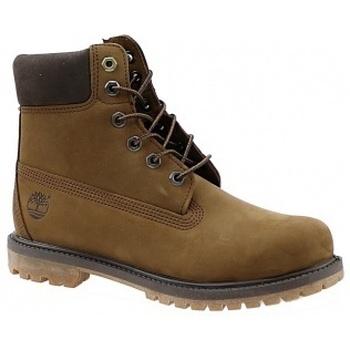 Boty Ženy Kotníkové boty Timberland 6 Premium Boot hnědá