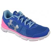 Boty Děti Multifunkční sportovní obuv Under Armour UA Micro G Speed Swift K modrá