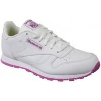 Boty Děti Multifunkční sportovní obuv Reebok Sport Classic Leather bílá