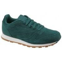 Boty Děti Multifunkční sportovní obuv Reebok Sport CL Leather SG zelená