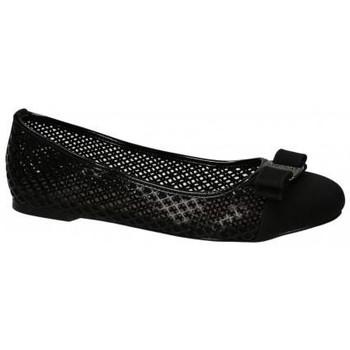 Boty Ženy Baleríny  Vices Černé děrované baleríny s mašlí