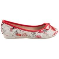 Boty Ženy Baleríny  Vices Červené balerínky s květy