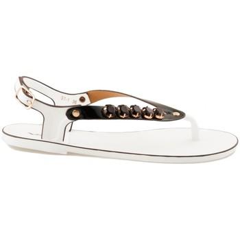 Boty Ženy Sandály Pk Fantastické bílo-černé gumové sandály
