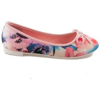 Boty Ženy Baleríny  Vices Unikátní růžové dámské baleríny s květy