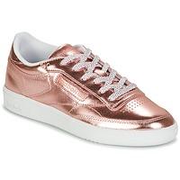 Boty Ženy Nízké tenisky Reebok Classic CLUB C 85 S SHINE Růžová