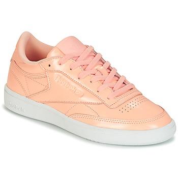 Boty Ženy Nízké tenisky Reebok Classic CLUB C 85 PATENT Růžová