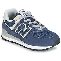 Boty Děti Nízké tenisky New Balance 574 Tmavě modrá