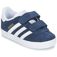 Boty Chlapecké Nízké tenisky adidas Originals GAZELLE CF I Tmavě modrá