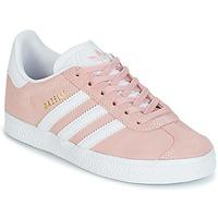 Boty Dívčí Nízké tenisky adidas Originals GAZELLE C Růžová