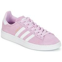 Boty Dívčí Nízké tenisky adidas Originals CAMPUS J Růžová