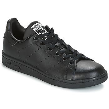 Boty Děti Nízké tenisky adidas Originals STAN SMITH J Černá