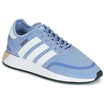 Boty Ženy Nízké tenisky adidas Originals INIKI RUNNER CLS W Modrá