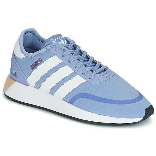 adidas Originals INIKI RUNNER CLS W Modrá - Doručení zdarma se ... 546efd08fd
