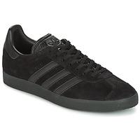 Boty Muži Nízké tenisky adidas Originals GAZELLE Černá