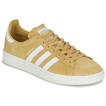 Boty Nízké tenisky adidas Originals CAMPUS Žlutá