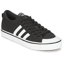 Boty Nízké tenisky adidas Originals NIZZA Černá