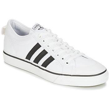 Boty Nízké tenisky adidas Originals NIZZA Bílá