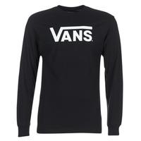 Textil Muži Trička s dlouhými rukávy Vans VANS CLASSIC Černá