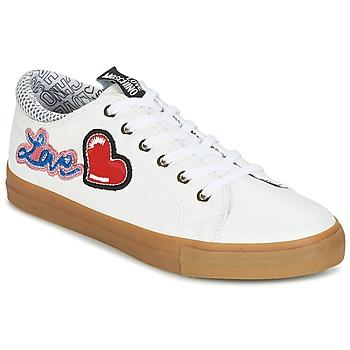 Boty Ženy Nízké tenisky Love Moschino JA15213G15 Bílá
