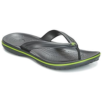 Boty Žabky Crocs CROCBAND FLIP Černá / Zelená