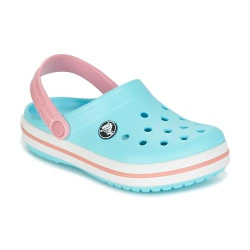47a87ac1cbb Crocs Crocband Clog Kids Modrá   Růžová - Doručení zdarma se Spartoo ...