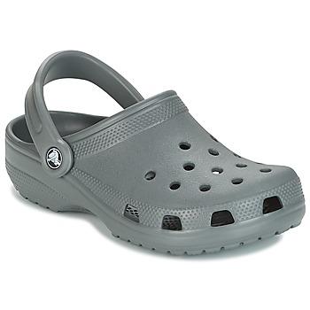 Boty Pantofle Crocs CLASSIC Šedá