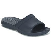Boty Děti pantofle Crocs CLASSIC SLIDE K Tmavě modrá