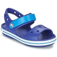 Boty Chlapecké Sandály Crocs CROCBAND SANDAL KIDS Modrá