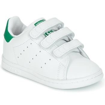 Boty Děti Nízké tenisky adidas Originals STAN SMITH CF I Bílá / Zelená