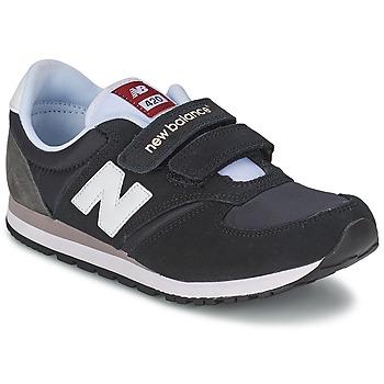 Boty Děti Nízké tenisky New Balance KE420 Černá / Šedá