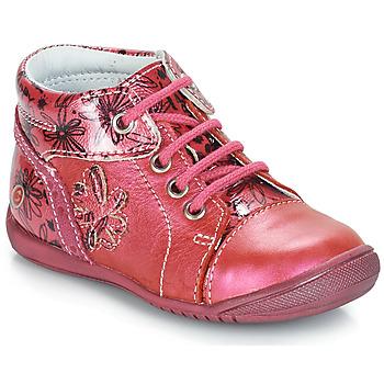 Boty Dívčí Kotníkové boty GBB ROSEMARIE Růžová