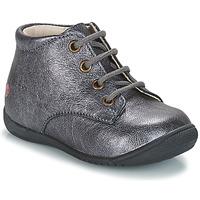 Boty Dívčí Kotníkové boty GBB NAOMI Stříbrná
