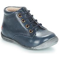 Boty Dívčí Kotníkové boty GBB NAOMI Modrá