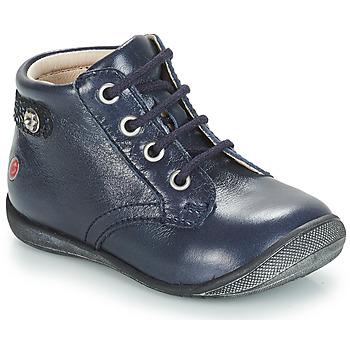 Boty Dívčí Kotníkové boty GBB NICOLE Modrá