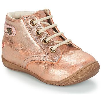 Boty Dívčí Kotníkové boty GBB NICOLE Růžová