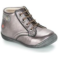 Boty Dívčí Kotníkové boty GBB NICOLE Fialová