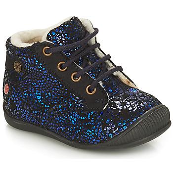 Boty Dívčí Kotníkové boty GBB NICOLE Tmavě modrá