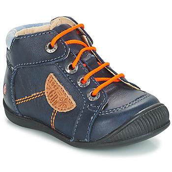 Boty Chlapecké Kotníkové boty GBB RACINE Modrá