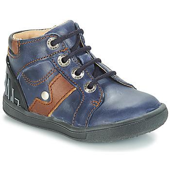 Boty Chlapecké Kotníkové boty GBB REGIS Tmavě modrá