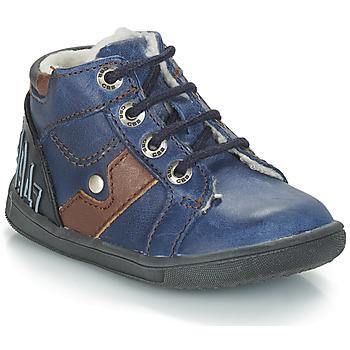 Boty Chlapecké Kotníkové boty GBB REGIS Modrá