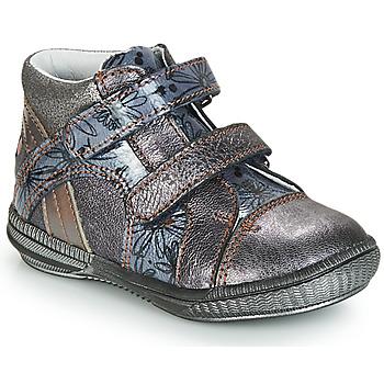 Boty Dívčí Kotníkové boty GBB ROXANE Modrá