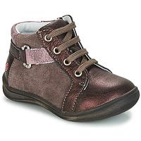 Boty Dívčí Kotníkové boty GBB RICHARDINE Růžová - bordo